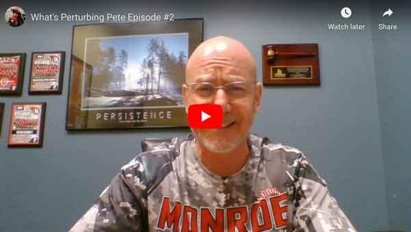 What's Perturbing Pete? Episode 2